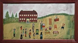 Välkommen till Bonauktion, av Einar Svedin.