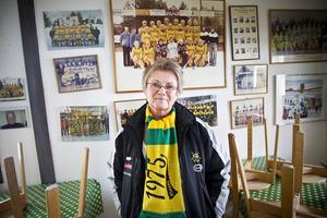 Yvonne Oscarsson, ordförande i Ljusdals BK.