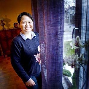 Chanpeng S Ericsson bor i Storvik och trivs med livet igen nu när hon friats från misstanken om att vara en öltjuv.