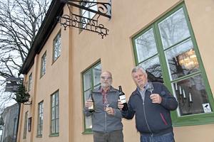 Stadshotellet är favoritstället för vinprovningskvällar om Munskänkarnas medlemmar får bestämma.