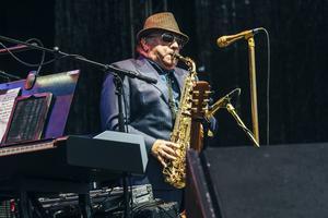Van Morrison var tidigare en del av gruppen Them, som uppträdde en gång i Strömsund efter att Morrison hade lämnat bandet.