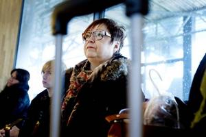 Elisabeth Eklund var på väg hem till Örnsköldsvik. Hennes tåg var försenat en och en halv timme på fredagsmorgonen.