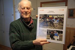 Travamatören Torsten Norberg, är med all rätt stolt över sin nordsvenska häst Lärkan. Åttaåringen har sprungit in 1,3 miljoner och senast var han tvåa i V75 på Bergsåker.