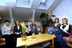 Birgitta Wennerberg, Ingrid Roswall, Pia Dalfors, Pia Odén, Ulla Gidlöf och Margaretha Sjöberg ser fram emot att kunna ta emot fler unga.
