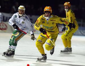 Bild från 2005. Andrey Sannikov i Vetlandatröjan under en match mot Hammarby på Zinkensdamm.