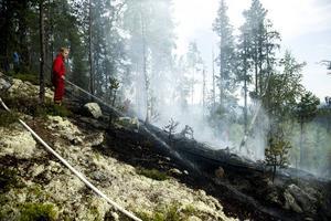 Sommaren 2014 i Örnsköldsvik kan bli ihågkommen för många saker. De många bränderna glöms inte av räddningstjänsten i första taget.