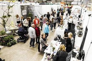 I år har Leva & Bomässan utökat med en hall för friluftsliv.