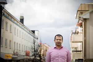 Majed Safaee, kommunikationsstrateg Sollefteå kommun.