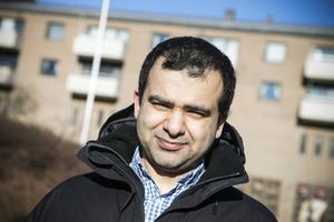 Sollefteå kommuns kommunikationsstrateg, Majed Safaee.