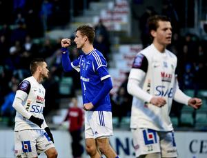 Johan Eklund - målskytt mot Brage.