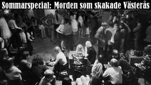 Bryggargårdens källarvalv. Bilden är från invigningen av Cavern Club 1967 och har alltså ingenting med tidpunkten för mordet att göra, bilden används enbart för att visa hur det såg ut inne på Bryggis.
