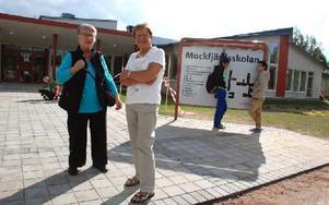 Studieteknik är viktigt och att få en liten knuff framåt för att saker ska falla på plats, berättar Irma Rönnbäck och Ulla Lindblad Ossendorf. Foto: Katarina Cham