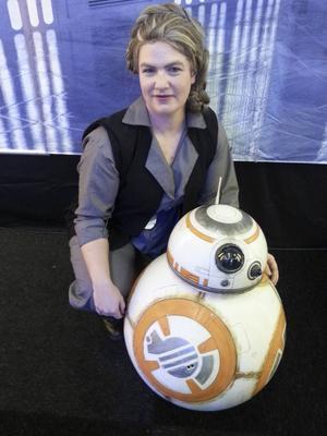 Som prinsessan Leia ur den nya filmen