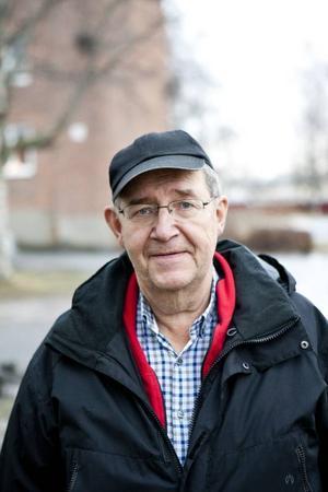 Åke Myrberg, ordförande i Östersunds schacksällskap.