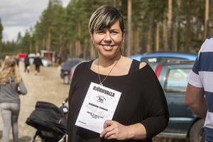 Diana Chaaya från Härjedalens Travklubb uppskattade antalet besökare till mellan 450-500 stycken.