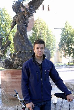 De två senaste säsongerna har Greger Artursson varit kapten i Mora IK. Den här säsongen är det supporterliraren Niklas Fogström som ska leda laget med C på bröstet. Foto:Gunnar Bäcke