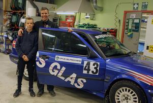 Malte och Magnus Proos gjorde en stark insats tillsammans i sista deltävlingen av Hälsingeserien.