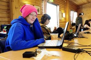 Stina Samuelsson och Isabell Lundgren säger att de mest är med för