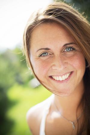 Annica Olsson, 31 år, kommer från Hallen men bor på Frösön.