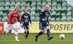 Ellen Löfqvist totaldominerade på mittfältet – två dygn efter att 17-åringen gjort 90 minuter i U23-landslaget.