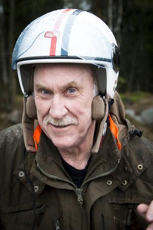 Björn Åberg är ordförande i Njurunda Classic Moppe.