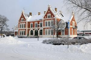 Järnvägsstationen i Vansbro blir kvar i kommunal ägo.