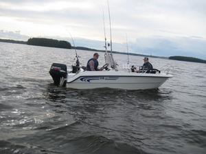Peter Mårdbergs fiskekort var i sin ordning.