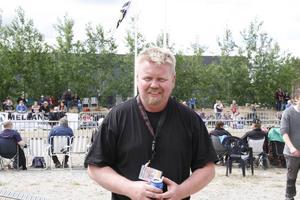 – Ljusdals kommun är en motorkommun och det är många som är intresserade. Tävlingen har blivit populärare för varje år, säger arrangören Bertil Olsson, ordförande i Hälsinglands traktorpullingförening.
