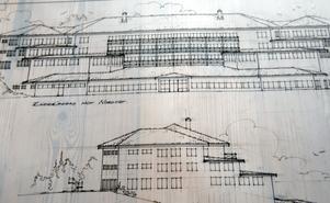 Stort. Ett förslag till helt nytt hotell vid Idre by har idrearkitekten Håkan Carlström ritat.