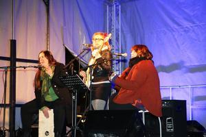 Örebrobandet The Fits stod för musikunderhållningen.