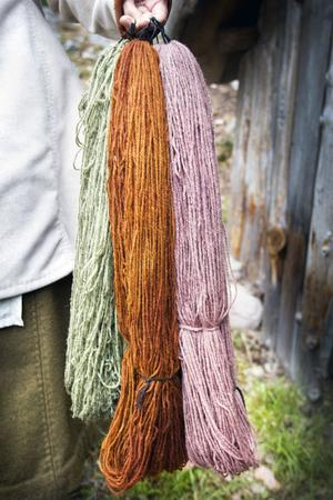 Färg från naturens eget skafferi.