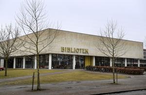 Växjö stadsbibliotek. Arkivbild.