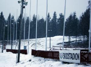 Skidlek- och Mountainbikebanan på Stockviks skidstadion är klar.