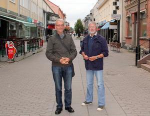 Siegurd Seifert och Michael Hart tror på Sollefteås potential för tillgänglighetsturism.