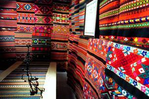 Hemslöjdsutställningen har visats på Dalarnas museum sedan i våras och avslutas nu i dagarna.