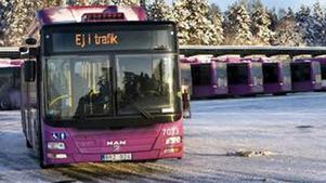 Slutar trafikera Rynninge. Busslinjenätet läggs om med start den 16 februari.
