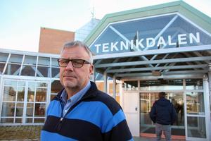 – Det vore väldigt olyckligt om högskolan flyttade från Borlänge, säger Sture Ericsson, vd för Stiftelsen Teknikdalen som arbetar med samarbeten för starkare företagsamhet.