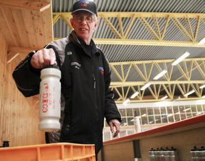 Peter Rothelius är mannen bakom laget i S/L Hockey. Genom årens lopp har han tillbringat tusentals timmar i Ljusne ishall.