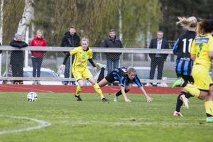 Jenny Blomdahl bröt sin måltorka – men Ljusdal föll ändå hemma på Älvvallen.