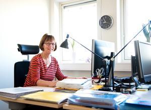 Elizabet Kallin jobbar som utvecklingspedagog i Köpings kommun och har ägnat stor del av sitt liv åt lottorna inom flyget och hemvärnet. I två omgångar har hon också varit kårchef i Köpings lottakår.