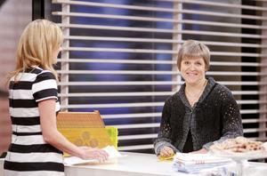 Annelie Riis var inte särskilt nervös när hon på söndagsmorgonen skrapade fram 250 000 kronor på Triss i TV4.
