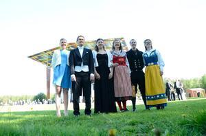 Det är vi som är de första måltidsekologerna. På bilden Camilla Adolfsson, John Kenne, Elin Axelsson, Maj Östberg Rundquist, Magnus Westling och Anna Hermansson.