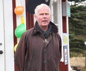 Kommunchef Claes Rydberg pratade om kommunens arbete med att utveckla landsbygden.