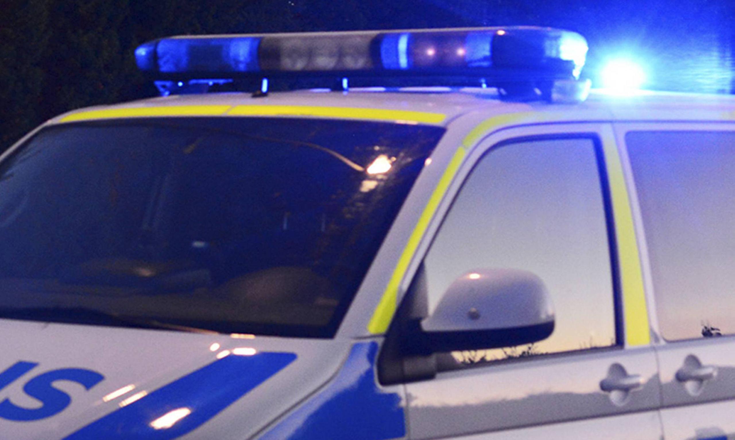 Vaktare och polis fangade flyende ranare