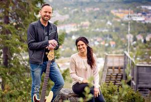 Jörgen Sandström från Jannez och Angelica Jonsson från Holmsten Trio. Foto: babbi.se
