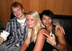 Pluto. Robin, Lisa och Markus