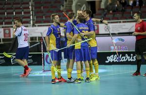 Sverige vann mot Norge i andra VM-matchen.