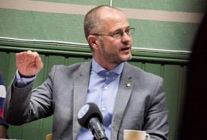 Magnus Svensson, ordförande i Centerpartiet i Gävleborg.