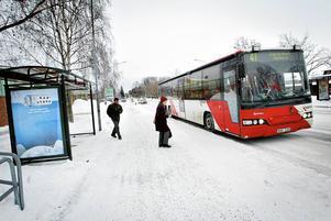 Signaturen BN vill ha tillbaka busslinje 41. Arkivbild