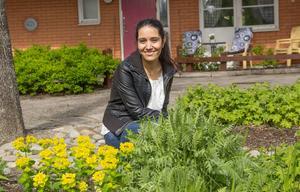 Jaleh Warner trivs utmärkt med jobbet som SIUS-konsulent och den största drivkraften är att hjälpa andra.